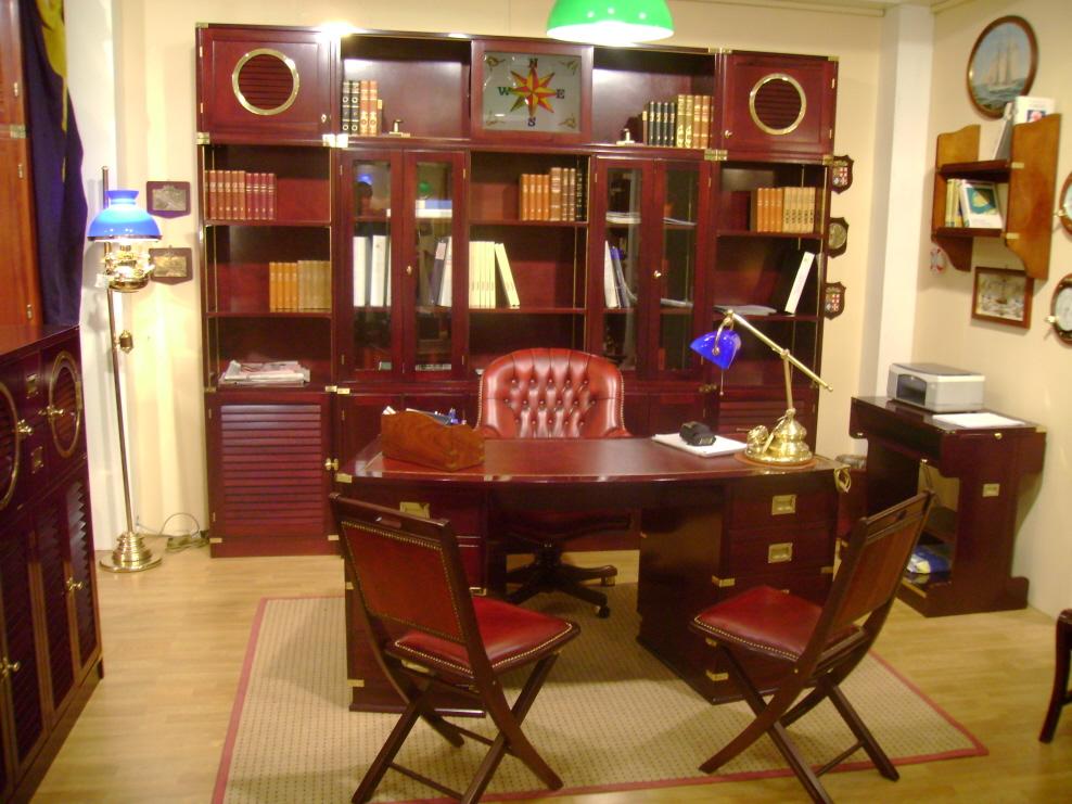 Ufficio Stile Inglese : Mobili in stile marina per studi e uffici a sarzana sp
