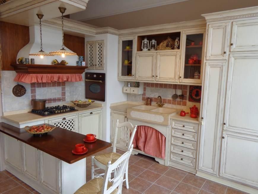 Arredamenti oscar bellotto cucina ad angolo rovere - Lavello cucina ad angolo ...